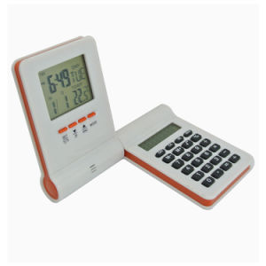 Digital Table Alarm Flip Clock with Calculator for Children pictures & photos