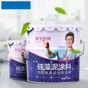 Diatom Ooze Coating Formaldehyde-Free Living Room Interior Environmental Protection Coating