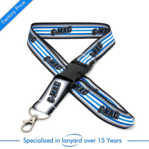 Wholesale Customized Flat Polyester Lanyard pictures & photos