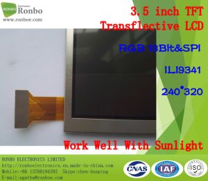"Outdoor 3.5"" 240*320 TFT Transflective LCD Screen Option Touch Panel pictures & photos"