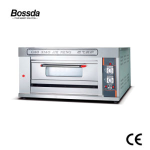 Bossda Hotel Use Professional Bakery 1 Deck 2 Trays Gas Oven pictures & photos
