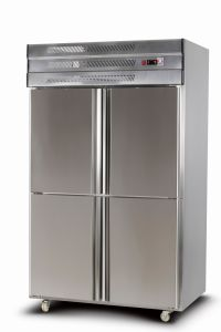 Commercial Kitchen Stainless Steel Upright Freezer pictures & photos