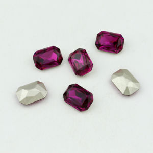 Machine Cut Point Back Loose Crystal Beads for Jewelry Accessory pictures & photos
