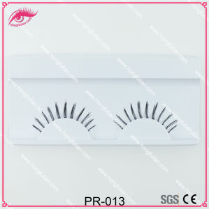 Clear Band Eyelashes with Eyelash Packaging Box pictures & photos