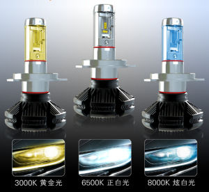 3000lm H4 Bulb Philips Auto LED Headlight