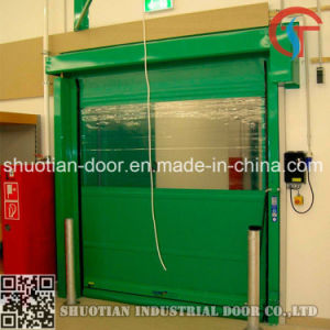 Interior High Speed Fast Roller Shutter Door9st-001) pictures & photos