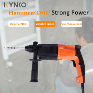 Kynko 600W/22mm Electric Rotary Hammer for Stone (60111) pictures & photos