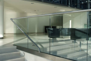 China Stairway Glass Balustrade U Channel Railing pictures & photos