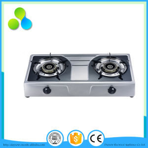 Fashionable Double Burner Table Gas Cooker, Gas Stove pictures & photos