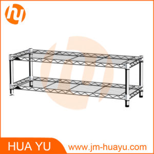 Two Tier Square Wire Shelving/Wire Stand/Wire Rack pictures & photos
