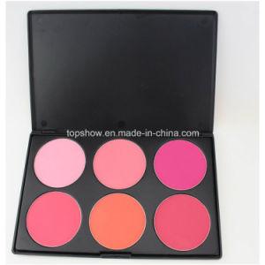 Print Logo on Available Face Make up Cometics Blusher 6 Color Makeup Blush Blusher Palette H6