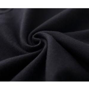 Dropship Women Cotton in Plain Black Round Neck Basic T Shirt pictures & photos