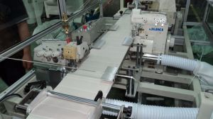 Horizontal Stitching Mattress Border Quilting Machine pictures & photos