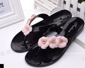 Flip Flops / PVC Crystal /Jelly Shoes for Ladies