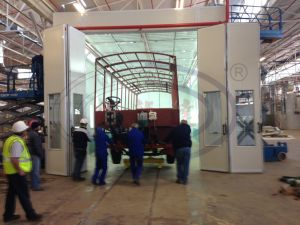 Wld15000 Truck Bus Paint Booth with Ce Approval pictures & photos
