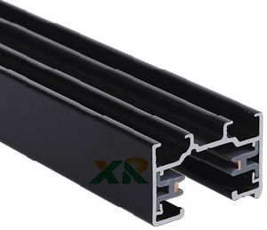 China Manufacturer 2 Wires Track with Lighting Rail System (XR-L210) pictures & photos