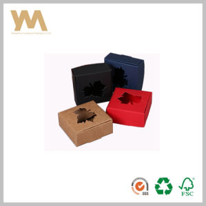 Colorful Hollow Kraft Box for Soap pictures & photos