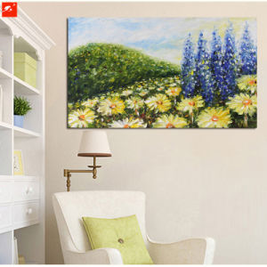 Impressionism Chrysanthemum Flowers Art Pianting with Frame pictures & photos