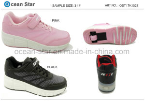 Boy Girl Skating Fashion Shoes pictures & photos