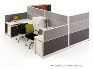Sound Proof Fabric Modular Workstation Set pictures & photos