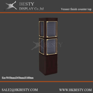 Stylish Jewelry Display Showcase with LCD Lighting Box pictures & photos