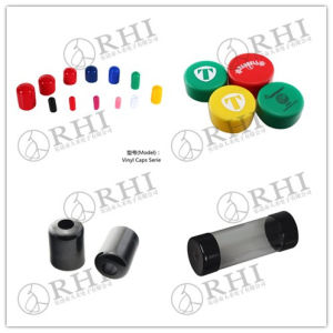 Cable Protection Cap Round Rubber End Caps for Tubes