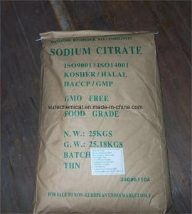 Kosher/Halal/HACCP/GMP Sodium Citrate with Bp USP, Fccv, E331 pictures & photos