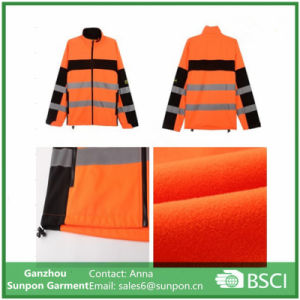Reflective safety Jacket, Softshell Jacket for Worker pictures & photos