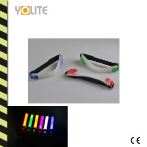 Waterproof LED Flashing Reflective Sports Night Running Armband pictures & photos