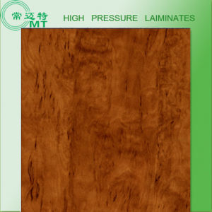 Wood Grain Laminate Kitchen Cabinets/HPL Sheets pictures & photos