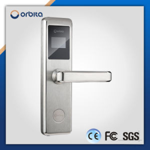 High Quality Full Stainless Steel Hotel RF Key Card Door Lock System pictures & photos