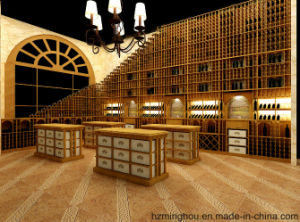 Customize Wine Cellar for Wood Furniture Wine Storage Wine Display pictures & photos