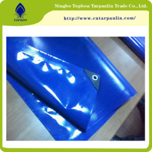PVC Knife Coated 1000X1000 Tarpaulin Top222 pictures & photos