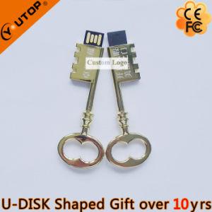 Custom Gift Laser Engraving Logo Metal Key USB Stick (YT-3230) pictures & photos