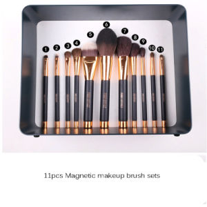 Wholesale 11PCS Magnetic Line Makeup Brush pictures & photos
