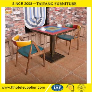 Restaurant Customized Wood Dining Tables and Chair pictures & photos