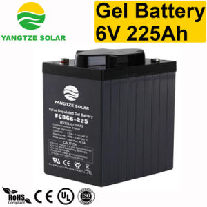6V 225ah Elevator Genset Industrial Battery pictures & photos