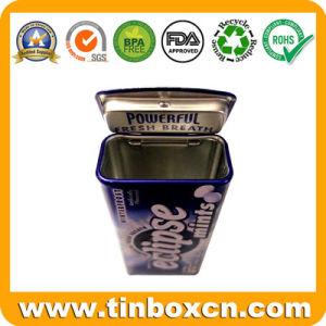 Custom Rectangular Mint Tin Box, Gum Tin Can pictures & photos