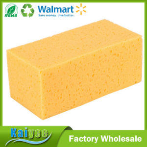Wholesale Bulk Mini Yellow Car Auto Washing Cleaning Sponge pictures & photos