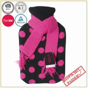 Hot Water Bottle Cover with Scarf pictures & photos