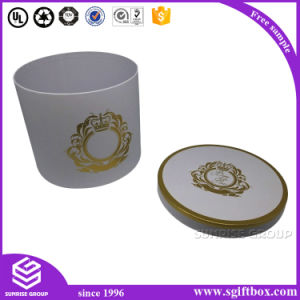 Custom Printing Paper Packaging Round Perfume Box pictures & photos
