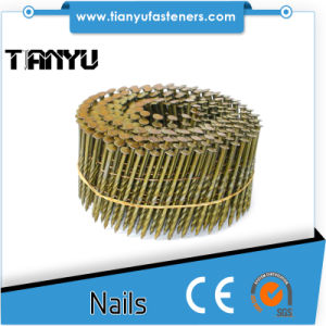 Wire Coil Painted Ring Shank Decking Nails pictures & photos