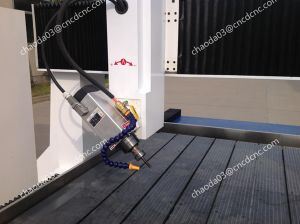 CNC Router Stone 4 Axis Carving Milling Machine 3D pictures & photos