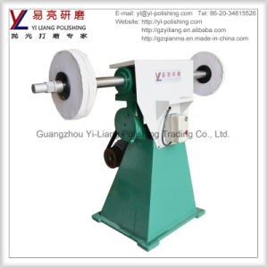 Standing Arms Grinding Machine with Rubber Wheels and Sand Belts pictures & photos