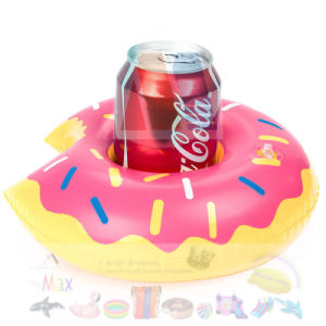 Mini PVC Inflatable Donut Cup Holder Floating pictures & photos