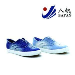 Washed Demin Upper Canvas Shoes Bf1701535 pictures & photos