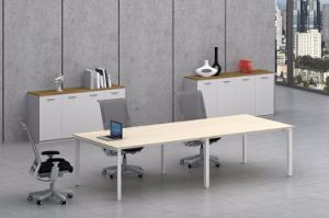 White Customized Metal Steel Office Conference Table Frame with Ht65-3 pictures & photos