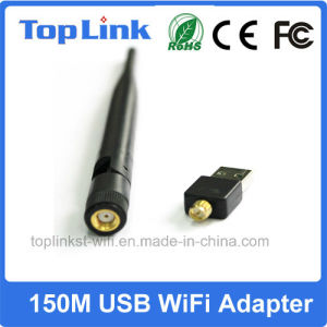 Top-GS03-T 150Mbps Rt5370 USB WiFi Adapter with RP-SMA Detachable Antenna for Android pictures & photos
