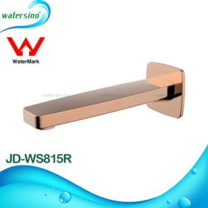 Rose Gold Plated Brass Bathtub Spout for Bathroom Shower pictures & photos