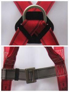 Hangzhou Hoater 3-Point Safety Belt Full Body Harness for Sale pictures & photos